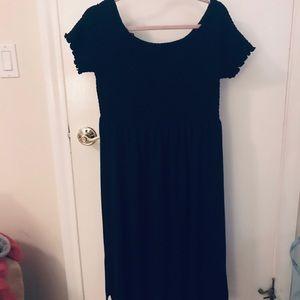 Gap Sun/Beach Dress, Size Large, Black